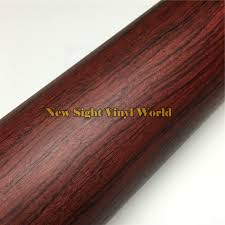 Rosewood Laminate Flooring Rosewood Wood Vinyl Wrap Film Sticker Wood Pvc Film For Floor