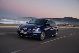 peugeot dubai 2017 peugeot 308 gt line blue exterior front side dynamic