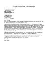 graphic artist cover letter sample stibera resumes