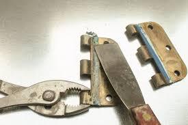 Door Hardware by 4 Ways To Remove Paint From Metal Hinges U0026 Other Door Hardware