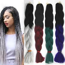 hairstyles with xpression braids women xpression braiding hair two tone crochet synthetic bulk