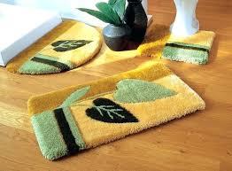 Yellow Bathroom Rugs Gray And Yellow Bathroom Rug Sets U2013 Bathroom Ideas