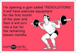 New Years Gym Meme - funny new years resolutions going to the gym funny someecards