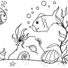 des jolis poissons en coloriage à imprimer magicmaman com