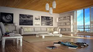 Beach House Interior Designs Brown Cushion Then Black Floor Lamps - Modern beach house interior design