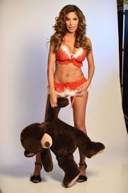 holly hagan sexy farrah abraham u0027s sexy santa lingerie photoshoot is peak farrah