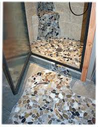 Tile Floor Designs For Bathrooms Pebble Tile Shower Linked Data Cycles Info