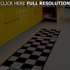 Black White Runner Rug Accessories Captivating Best Kitchen Rugs Ideas Black And White