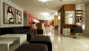 cuisine interior design of hairdressing and beauty salon