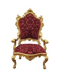 Clipart Armchair Armchair Red Royal Transparent Png Stickpng