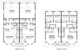 download duplex house plans with open floor plan house scheme