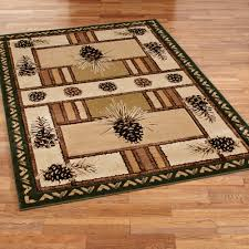 Southwestern Throw Rugs Decorating Rustic Area Rugs Rustic Rug Moose Area Rug