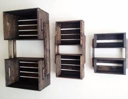 hanging wall shelving units diy pallet wall hanging shelf