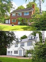 before and after exterior renovations search mike