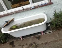 designs excellent club foot bathtub 144 fish pond claw foot