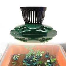 7pcs aquaponics floating pond planter basket kit hydroponic