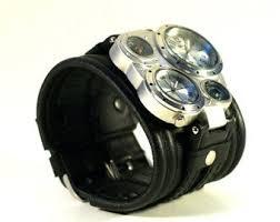 bracelet leather watches images Mens wrist watch bracelet pathfinder 2steampunk etsy jpg