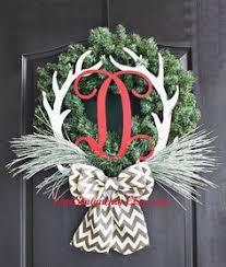 deer antler wreath search wreaths antler