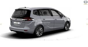 opel combo 2017 2017 opel zafira facelift leaked on gm website here are the first