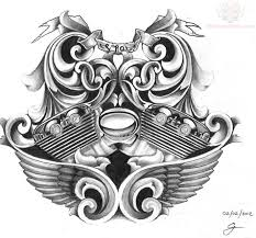 harley davidson bike tattoo design photos pictures and sketches