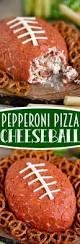 thanksgiving cheese ball recipe pepperoni pizza football cheese ball mom on timeout
