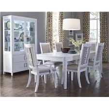 Samuel Lawrence Dining Room Furniture by Samuel Lawrence Brighton 7 Piece Contemporary Dining Table Set