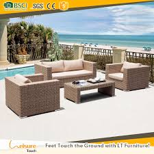 Rattan Patio Furniture Sets by Modern Design Rattan Sectional Sofa Set Outdoor Furniture Wicker