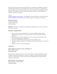 appointment setter cover letter examples of clerical resumes resume format download pdf