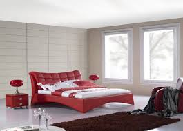 red bedrooms decorating the most impressive home design
