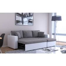 canap m ridienne convertible pas cher canap m ridienne convertible pas cher 7 avec d angle bilbao eco cuir
