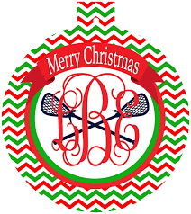 lacrosse ornaments personalized lax gift great