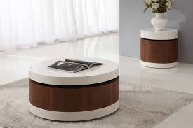 furniture 20 mesmerizing white coffee table designs white round