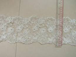 lace ribbon in bulk aliexpress buy embroidered lace trim ivory lace cord