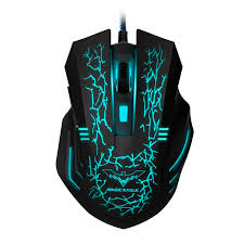 amazon com redragon m601 gaming mouse wired with red led 3200
