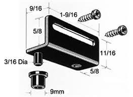 Pin Hinges For Cabinet Doors Wood Panel Pivot Hinge Black Pair With Screws
