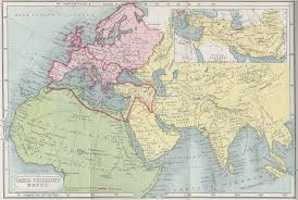 Asia Minor Map by Complete Index