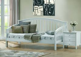 White Wooden Daybed Low White Wood Daybed For Kids Decofurnish