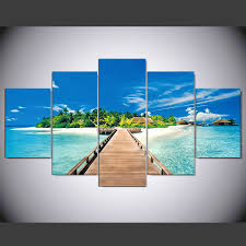 aliexpress com buy 5 pieces hd printed painting most beautiful