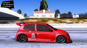 renault clio v6 modified renault clio v6 youtube