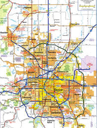 Fort Collins Colorado Map by Metro Denver Map