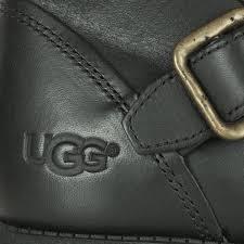 ugg womens finney boots ugg finney s black buckle biker boot