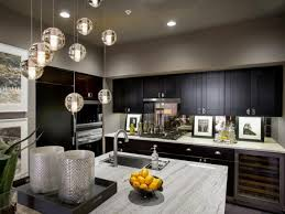Transitional Island Lighting Kitchen Attractive Transitional Medium Paint Decorators Tree