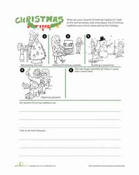 traditions worksheet education