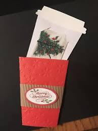 gift card packs starbucks gift card holder pack of 3 with envelopes ebay