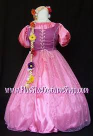 deluxe rapunzel halloween costume plus size and super size