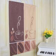 coffee kitchen curtains modern cafe kitchen curtains styles coffee bean design kitchen