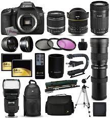 canon black eos 7d mark ii digital slr camera with 20 2 megapixels