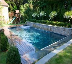 Small Backyard Pool by Small Backyard Inground Pool Design Small Kidney Shaped Inground