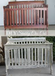 Shabby Chic Used Furniture by Diy Shabby Chic Crib Restoration Baby Products Pinterest