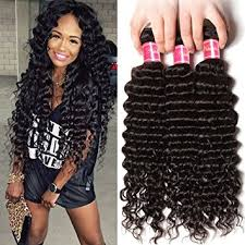 sew in wet and wavy 16in amazon com nadula 6a remy virgin brazilian deep wave human hair